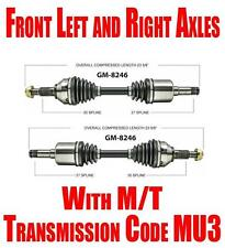 Front Axles for Chevrolet Cobalt & HHR 2008-2010 M/T with Code MU3 Check!!