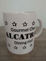 Alcatraz Coffee Mug Gourmet Chef Dining Hall Tea Cup San Francisco Ceramic