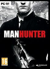MANHUNTER. LET THE HUNT BEGIN. BRAND NEW DVD SOFTWARE FOR PC.  SHIPS FAST / FREE