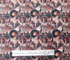 Quilting Patchwork Sewing Fabric HARRY POTTER Digitally Printed Cotton Material