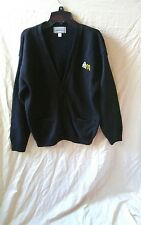 McDonalds Black Cardigan Sweater Uniform Size Small