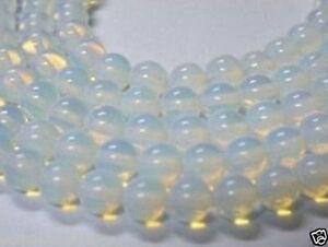 "4-14MM Sri Lanka Natural Moonstone Round Gemstones Loose Beads 15"""