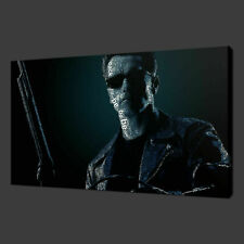 More details for terminator arnold iconic film modern canvas print art ready to hang