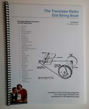 Vintage Transistor Radio Dial String Repair Book. Hundreds of Diagrams and Tips!