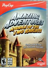 Amazing Adventures: Riddle of the Two Knights (PC/MAC-CD, 2012) - NEW in DVD BOX