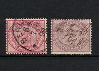 (YYAA 167) GERMANY 1875 - 1890 TYPE USED Mich 37 Sc 36 CV 450 EUR Reich
