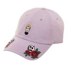 Disney Villains Evil Queen Embroidered Baseball Hat Roses Dad Cap Adult