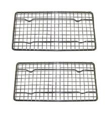 2x Heavy Duty Cooling Wire Rack for Oven Safe Baking Frying Roasting Cooking Pan