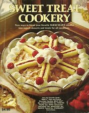HP BOOKS SWEET TREAT COOKERY M & M's SOFTCOVER COOKBOOK 1978 MARS EDITION