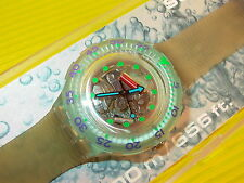 Swatch Scuba BLUE ICE in NEU & OVP + neuer Batterie SDK107