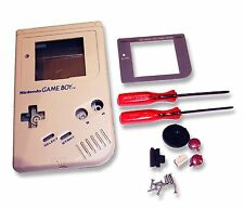 Gameboy Game Boy DMG-01 Original Consola Gris Carcasa Shell W Pantalla y Herramientas UK