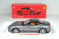 Ferrari California T closed Top graumetallic 1:18 von bburago Signature Series