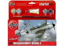 AIRFIX® 1:72 MESSERSCHMITT BF109E-3 STARTER SET WW2 MODEL AIRCRAFT KIT A55106
