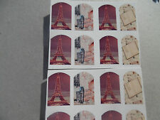 20 water slide nail art   dreaming paris effiel tower mix full nails trending