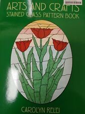 Stained Glass Pattern Book - ARTS & CRAFTS PATTERNS