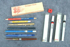 Lot vintage writing instruments Pens Pencils Swagger Stick Rot Ring Technical Hm