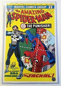Marvel Amazing Spiderman 129 Stan Lee Signed 11x17 1st Punisher Art Print W/ COA