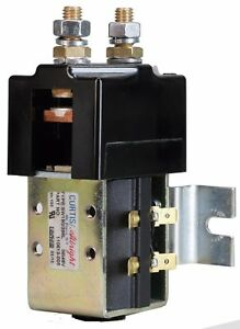 Curtis SW180 48 Volt High Amp Solenoid for Golf Carts