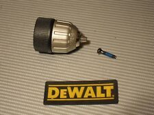 "DeWalt Cordless-Corded KeyLess 3/8""-24 Chuck 330075-85 W/Screw 149518-01"