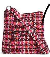 NWT Vera Bradley Quilted Hipster Crossbody Bag Purse Houndstooth Tweed Ret. $60