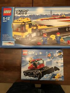 Two Lego City Sets Brand New