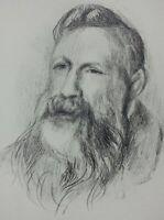 Auguste Renoir (Nach ) : Rodin - Lithografie Unterzeichnet # Mourlot #1951