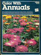 """""""Color With Annuals"""" by Barbara Ferguson (1987) Softcover from Ortho Books  VG/G"""