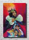 X254 J Cole Album Hip Hop Fabric Poster Art 40 24x36