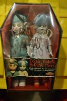 Mezco Living Dead Dolls - Dr. Dedwin and Nurse Necro - Exclusive - New, Sealed