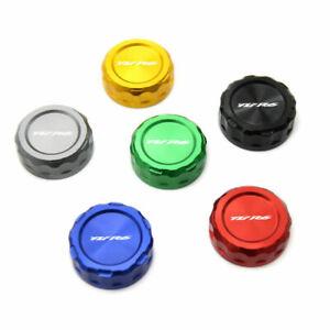CNC Rear Brake Fluid Oil Cap Cover For YAMAHA YZF R6 1999-2003 2017-2020 R6