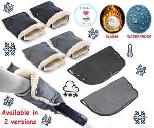 Winter Warmer Gloves Pram Pushchair Hand Muff Waterproof