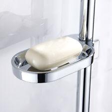 Porte-savon support réglable douche coulissant plaques savon Smooth Metal