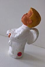 Engel - Rot Ceramik - Keramik Weihnachtsdekoration Deko Weihnachten Höhe 16 cm