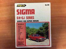 Gregory's Sigma - GH Series Service & Repair Manual No189 - 1980/1983