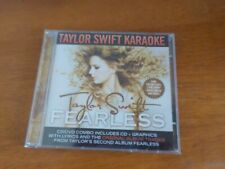Taylor Swift  Fearless Karaoke  CD