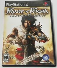 Prince of Persia: The Two Thrones (Sony PlayStation 2, 2005) with Booklet