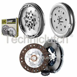 ECOCLUTCH 3 PART CLUTCH KIT AND LUK DMF FOR AUDI A3 CONVERTIBLE 1.9 TDI