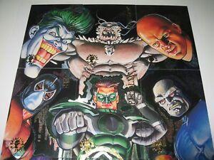 1995 DC Villains (Dark Judgment) Gathering of Evil Set #GE1-GE9. 8 Cards Set