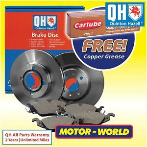 QH Front Car Brake Pads And Discs Set Fits Ford Transit Connect 2002