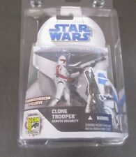 Clone Trooper Senate Security 2008 STAR WARS The Clone Wars SDCC Exclusive