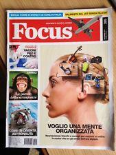 RIVISTA FOCUS SCOPRIRE E CAPIRE IL MONDO n. 265 Novembre 2014