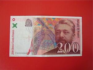 200   FRANCS   EIFFEL 1997