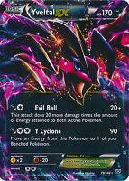 Yveltal-EX Ultra Rare Pokemon Card XY Base 79/146
