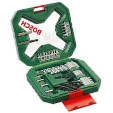 Bosch Tool Screwdriver Drill Bit Masonry Set X-Line 34 Pc For Wood Stone Metal