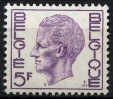 Belgio 1971-82 SG#2213, 5f Violetto rossastro Re Baldovino I ORD carta Gomma integra, non linguellato #D48313