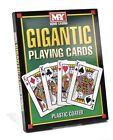 GIGANTIC A4 GIANT PLAYING CARDS INDOOR OUTDOOR SUMMER GARDEN GAME FUN FAMILY