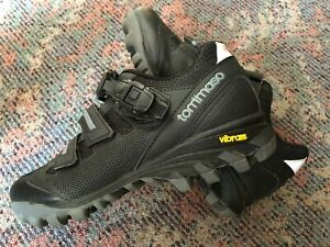 Tommaso vertice 200 MTB shoes size 41 - Vibram soles - Black - only used 2 times