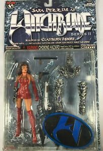 TOP COW WITCHBLADE 6 INCH ACTION FIGURE SARA PEZZINI CLAYBURN MOORE COLLECTIBLES