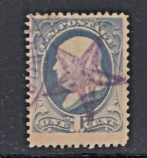 #206 Used Fancy Purple 5-Pointed Star Cancel (JH 5/17)