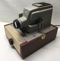 Rare Retro Vintage Sears Roebuck Tower 300 Slide Projector  6350 In Case